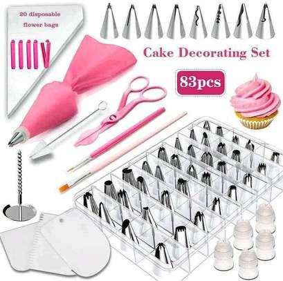 83 pcs Cake decorator image 1