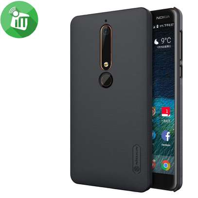 NILLKIN Super Frosted Shield Back Cover For Nokia 6.1 and Nokia 6 2018 image 3