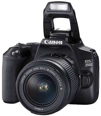 Canon EOS 250D DSLR Camera with 18-55mm f/4-5.6 IS STM Lens image 1
