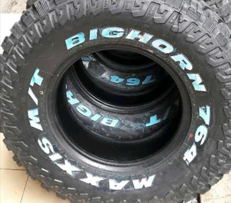 BIGHORN 265/75r16 Mt 10 P.R MAXXIS TYRES image 2