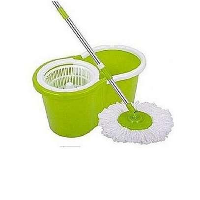 Spin Mop & Bucket Set 360 rotating image 1