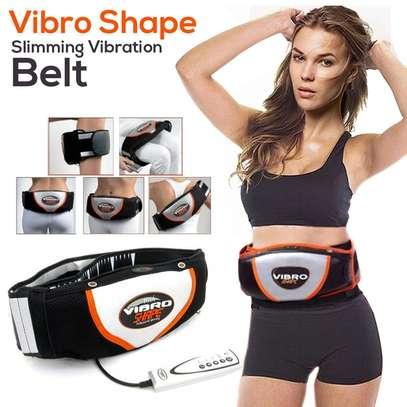 Vibro Shape Slimming Vibrating Belt, Fat Burning Shaping Belt Massager image 1