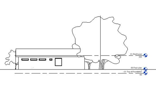 Residential house plan image 2