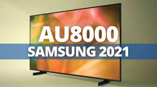 "SAMSUNG 50"" 4K UHD 2021 LATEST SAMSUNG SMART TV,ALEXA VOICE CONTROL,Q-SYMPHONY,WI-FI,SMART CONNECTIVITY,VOICE ASSISTANT-AU8000-BLACK image 1"