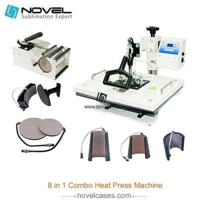 multipurpose 8 in 1 Combo Heat Press image 1