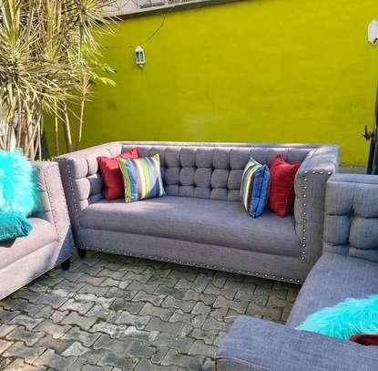 5 seater modern sofa set image 1