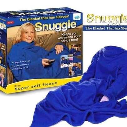 Snuggling blanket image 1