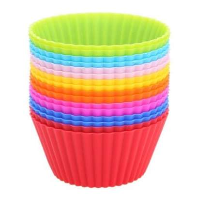 Silicone Cup Cake Mould image 1