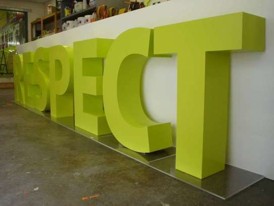 Business Signs, Office Signs & 3D Sign Creation/Customization image 3