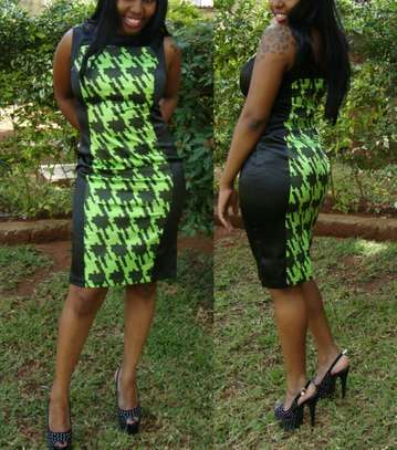 Houndstooth Pattern Dresses From UK image 4