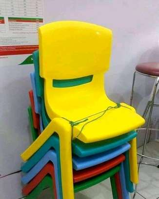 Kindergarten Plastic Chairs image 6