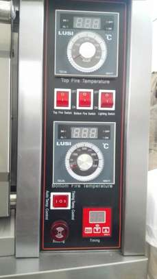 Single deck double tray electric Oven image 4