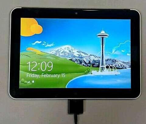 Hp elitepad 900 G1 windows 8 tablet 2gb ram 64gb ssd 10.1 with docking station image 1