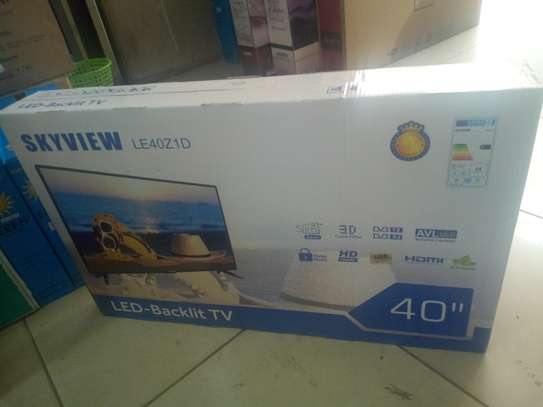 "Sky view 40"" digital led TV"