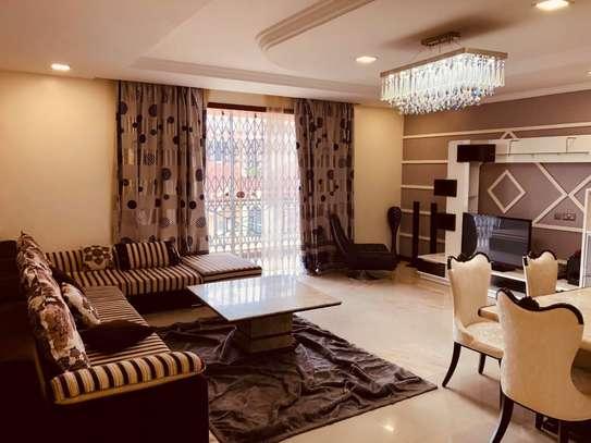 Furnished 3 bedroom apartment for rent in Hurlingham image 1