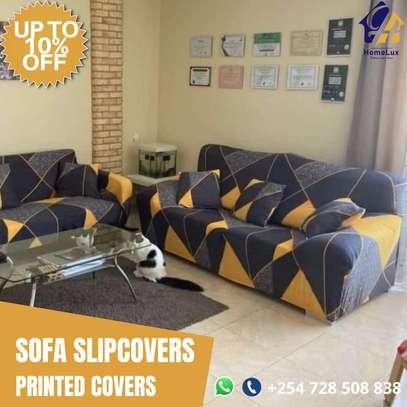 Modern Sofa Slip Covers 7 seater (3,2,1,1) image 1