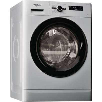 Whirlpool FWF61052SB Washing Machine Front Load, 6KG - Silver image 1