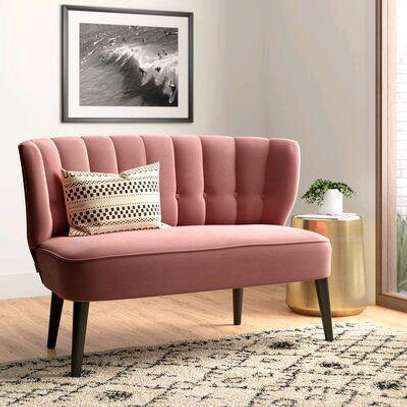 Pink sofas/high back sofas for sale in Nairobi Kenya/Modern sofas for sale in Nairobi Kenya image 1