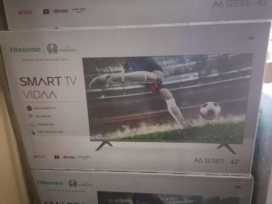 Hisense 43 inch smart a6000 led tv image 1