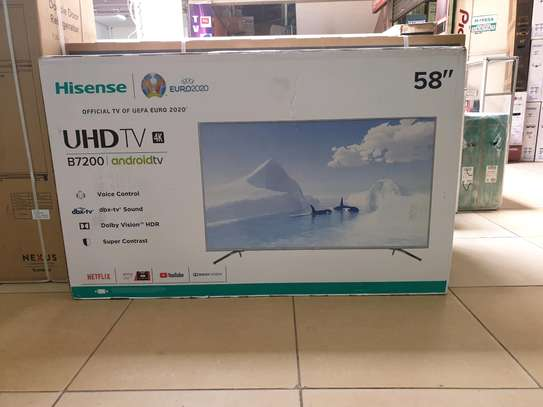 Hisense 58inch smart android led tv