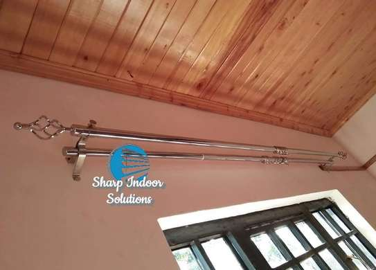 3m double curtain rods image 3