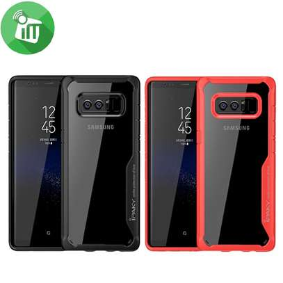 IPAKY Hybrid Shockproof Transparent Case for Samsung Note 8 image 6