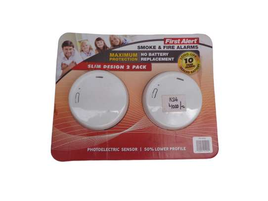 Photoelectric Smoke and Fire Alarm image 2