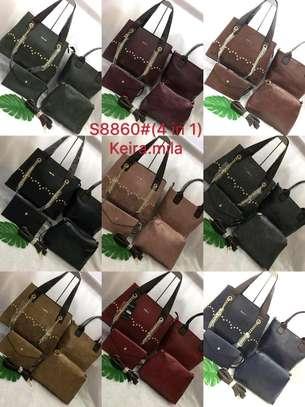 Leather Handbag Set image 3