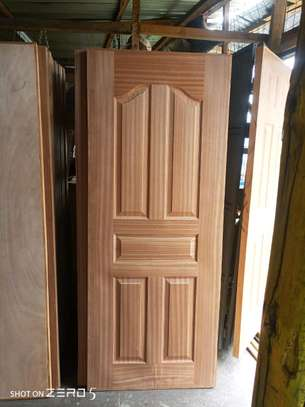 Mahogany interior flush doors available image 3