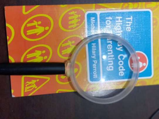 1Pc Round Handheld Magnifying Glass