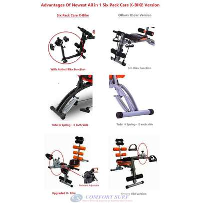 Six Pack Care Abdominal Exercisers Bike Function image 1