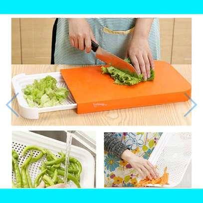 sliding chopping board image 2