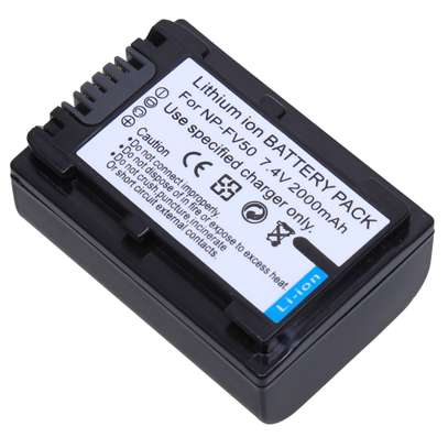 Sony NP-FV50 NPFV50 Rechargeable Battery Pack image 7