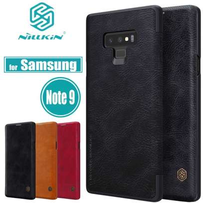 Nillkin Qin Series Leather Luxury Wallet Pouch For Samsung Note 9 image 1