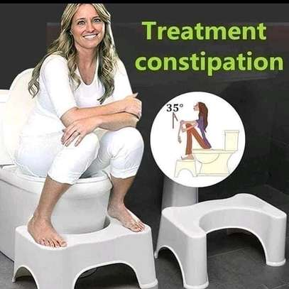 Toilet feet stool image 1