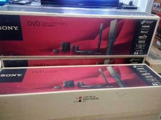 Sony DAV DZ 650 dvd Hometheatre system image 1