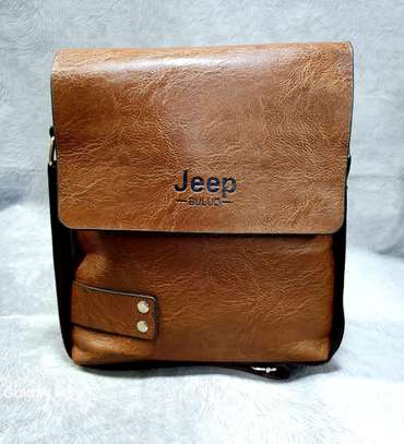 Jeep leather bags