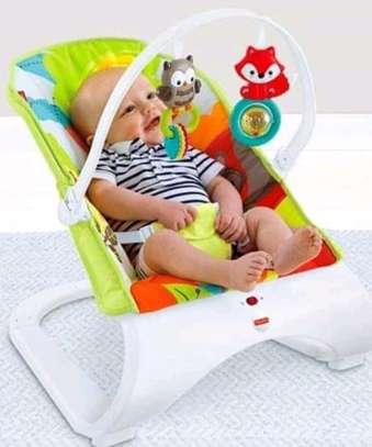baby Fisher price Sleek looking baby bouncers are super comfortable with calming vibrations;