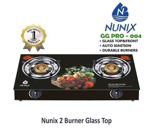 Nunix 2 Burner Glass Top image 1