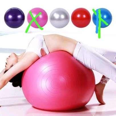 Yoga ball/ pregnancy ball /workout ball image 1
