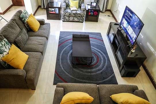 Lounge sofa and cabinet set