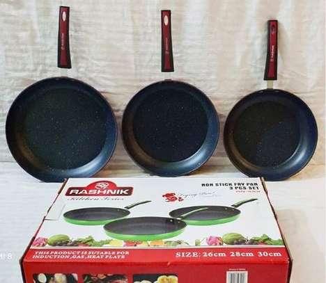 Nonstick 3 piece pans image 1