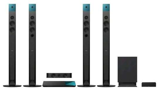 Sony BDV-N9200W 1200w 3D Blu-ray Home Theater Systems Bluetooth with Wireless Speakers Black image 1