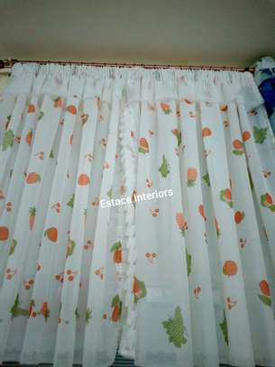 Elegant kitchen curtains image 9