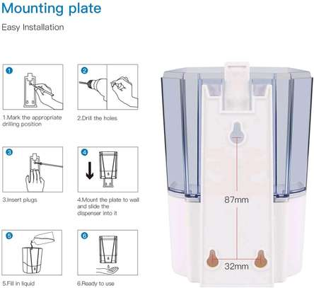 Automatic Soap Dispenser 700ml image 3