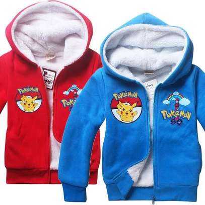 Warm Fleece Kids Hoodies