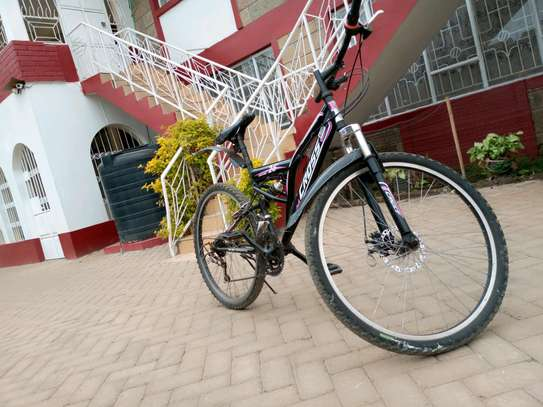 Cross mountain bike full suspension