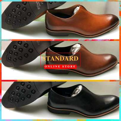Men's Official Italian Leather Shoes with rubber sole image 19