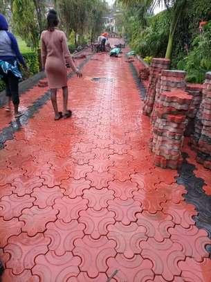 3D Coloured Cabro/paving blocks image 2