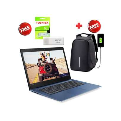 "Lenovo Ideapad S130-11IGM-11.6"" WINDOWS 10+MS OFFICE+AVG ANTIVIRUS-Intel Celeron-4GB RAM-500GB HDD-Mid Night Blue+FREE ANTI-THEFT BAG+FREE 16GB FLASH DISK"